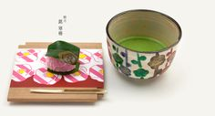 SOU・SOU 's textile become Japanese-sweets.  睦月 銘 寒椿