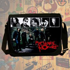 NEW Custom : My Chemical Romance Messenger School Laptop Bag By Gift Ideas #07