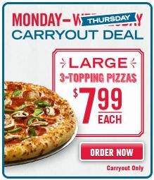 Domino's Pizza Weekly Carryout Deals - Available nationwide Pizza Coupons, Pizza Restaurant, Favourite Pizza, Online Coupons, Pizza Hut, Vegetable Pizza, Breakfast, Food, Pizza