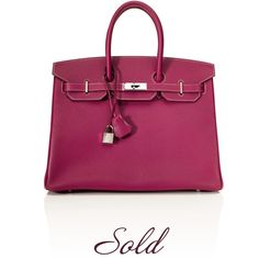 4636ed8f121696 Hermès Two-Tone Candy Collection Tosca Epsom Leather and Rose Tyrien Birkin