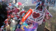 Our Love Lock at Seoul Tower