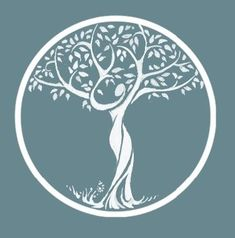 I love different images of trees. This one where the tree's trunk is a woman is both elegant and true. Posted on The Gifts Of Life: