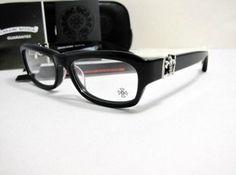 34066750bb1 Chrome Hearts Black fish mitten eyeglasses