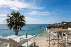 Penthouse Apartment, Glass House, Laguna Beach, City Lights, Coastal, Exotic, California, Outdoor Decor, Design