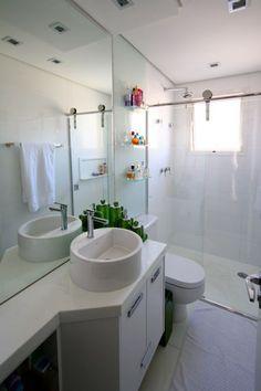 Clique Arquitetura - Seu portal de Ideias e Soluções - Bancadas de Banheiro e Lavabo