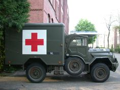 Dutch Army DAF #Ambulance  Photo by Image*After  More  at http://www.carsandracingstuff.com/library/d/daf.php
