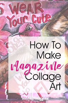 collage art If you have ever wondered how to make one of those cool pieces of art using magazine clippings, this is the post for you! Tips, ideas and inspiration for using cutout images to make neat combined artwork. Paper Collage Art, Collage Book, Collage Art Mixed Media, Collage Artwork, Collage Making, How To Make Collage, Simple Collage, Soul Collage, Collage Portrait