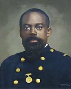 William Harvey Carney was an African American soldier during the American Civil War. He was awarded the Medal of Honor for his actions during the Battle of Fort Wagner.    Born: February 29, 1840, Norfolk  Died: December 8, 1908, Boston  Buried: New Bedford  Awards: Medal of Honor