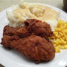 "Fried Chicken with Creamy Gravy | ""Wow! This is amazing. A lot of people complimented on how amazing the gravy was, but I thought the chicken took the prize."""
