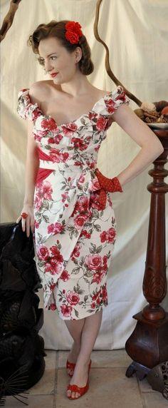 Jezebel Pinup Dress