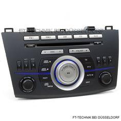 Sehr schönes Mazda 3 CD-Radio mit MP3 und WMA! Passend für Mazda 3 Fahrzeuge ab 2009! Mehr im Shop.