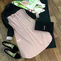 Modesty Fashion, Abaya Fashion, Muslim Fashion, Fashion Dresses, Lovely Dresses, Simple Dresses, Casual Dresses, Modele Hijab, Casual Hijab Outfit