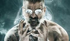 Chiyaan Vikram - Kamal Haasan's Film Title and First look! Kadaram Kondan First look!