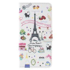 Housse Portefeuille Samsung Galaxy A5 2016 J'adore Paris