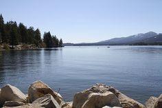 Big Bear Lake - Kayaking California's Flat  Explore 235 Flat Water Paddling Destinations in California www.kayakandcanoeguidebooks.com