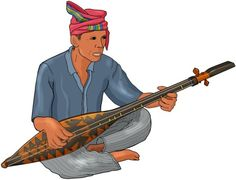 HEGELUNG The hegelung is a wooden two-stringed lute played by the Tboli, an animist ethnolinguistic group of southern Mindanao in the Philippines.  The instrument is tall and slender, with nine frets. One string is used as a drone, and the other for melodic ornamentation.