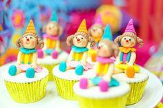 Festa Circo - Cupcake de palhaça- Foto Roberta Borowski Fotografia