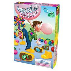 Gomme Balloune - 17 bottines de plastique, 17 semelles de carton, 1 dé en mousse, règles du jeu. -   Age : 3 ans et plus -   Référence : 46530  #Jeux #Jouet #Famille #Enfant #Chalet #Vacances #Cadeau
