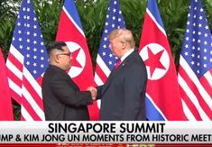 Trump confirms details of second summit with North Korea, touting its potential as 'economic powerhouse' In this June. file photo, President Trump poses with North Korean leader Kim Jong Un on Sentosa Island, in Singapore. Trip To North Korea, South Korea, North Korea Kim, Donald Trump, Elizabeth Warren, Kim Jong Un, Vietnam, Korean Peninsula, Nike Outlet