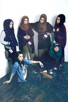Muslimah Gang!