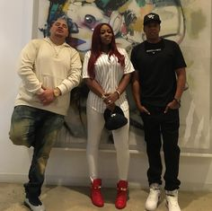 Fat Joe , Remy Ma, Jay Z Word on the streets is that Jay about to drop some interesting bangerz from a few dope artists that can only be heard on Tidal