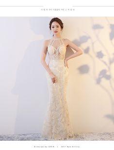 65077e66a8ecd 2018新作韓流スタイルシースルーセクシーで優雅なロング丈イブニングドレス