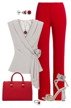 A fashion look from August 2016 featuring elastic waistband pants, Jacques Vert and grey shoes. Browse and shop related looks. Business Casual Outfits, Business Dresses, Professional Outfits, Business Attire, Office Outfits, Classy Outfits, Stylish Outfits, Work Fashion, Fashion Looks