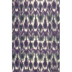 Allure Grey and Purple Horizon Rectangular: 7 Ft. 7 In. x 10 Ft. 10 In. Rug - (In Rectangular)