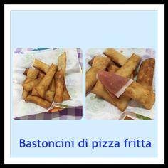 Bastoncini di pizza fritta