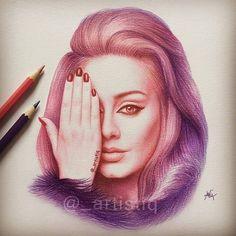 Secrets Of Drawing Most Realistic Pencil Portraits - - artistiq ( Doodle Drawings, Doodle Art, Cute Drawings, Pencil Drawings, Pencil Art, Beautiful Sketches, Kawaii Doodles, Book Drawing, Celebrity Drawings