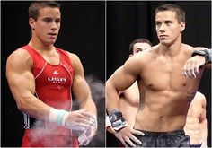 Hottest male gymnasts of 2012 London Olympics.  #1 is USA's Jake Dalton