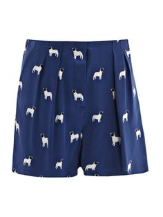 Shorts with mini Da Tou's on it!!