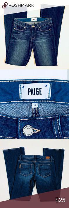 "PAIGE Highline Bootcut Petite Size 27 Most excellent condition! 31"" INSEAM Paige Jeans Jeans Boot Cut"