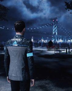 Detroit: Become Human, Connor at the Ambassador Bridge