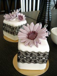Laced Violet Gerbera by Sliceofcake.deviantart.com on @deviantART