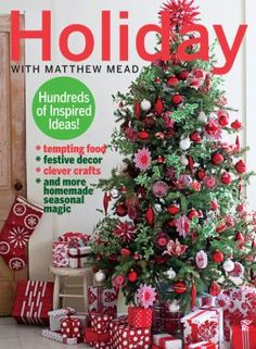 Holiday With Matthew Mead Create, Decorate, Celebrate (Book) : Style guru Matthew Mead makes the holidays simple and spectacular with creative ideas for handmade crafts, unique gifts, elegant decorations, and scrumptious edibles. From the best food bloggers' Christmas cookies to bargain seasonal home make-overs to exquisite (easy) paper crafts, no corner of the home, and no aspect of the festivities is left untouched by Mead's special brand of holiday magic. In addition, HOLIDAY WITH MATTHEW…