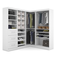 Corner Closet - FINALLY someone understands NO wasted space AND ...