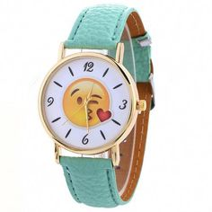 Watches Confident Fashion Creative Emoji Unisex Watches Cute Girls Children Wrist Watch Kids Expression Relojes Gift Womens Ladies Quartz Clock