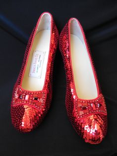 Ruby Slipper Replicas  The Wizard of Oz  Judy Garland.