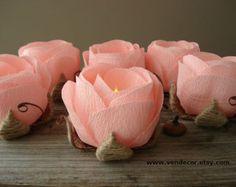 peach candles - Google Search