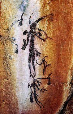 Bradshaw rock art figures -The-Kimberley-Region-North-