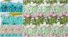 How To Crochet Flower Popcorn Stitch – Craft-Addicts Basic Crochet Stitches, Crochet Patterns, Popcorn Stitch, African Flowers, Stitch Design, Yarn Crafts, Craft Tutorials, Crochet Flowers, Free Pattern