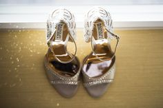 Badgley Mischka bridal shoes | Philly wedding | Krista Patton Photography