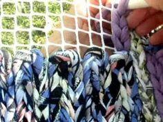 1.RECICLAJE DE ROPA (ALFOMBRA)-DIY RECYLED CLOTHES - YouTube