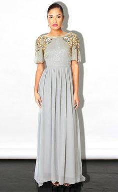 Virgos Lounge Grey Rania Dress