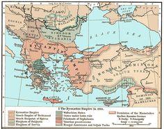 The Byzantine Empire in 1265 C.E.