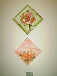 Quadrinho flores