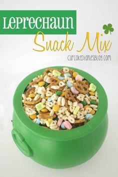 Leprechaun Snack Mix - Cupcake Diaries