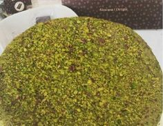 """Pistachio Cake - made with the top quality of Bronte Pistachio, what is calles also """"the Green Gold of Sicily"""" #pistachio #cake #sweets #recipe #torta #pistacchio #sicilia #bronte #ricetta #dolci #etna #greengold #idee #ideas #gourmet #food"""