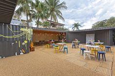 Restaurante Container,© Henrique Queiroga